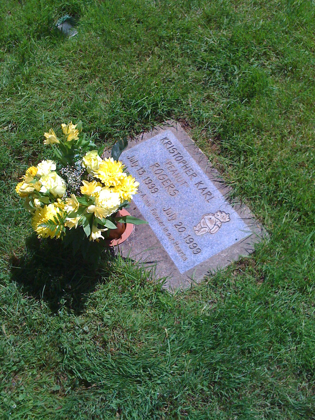 Kristophers Headstone